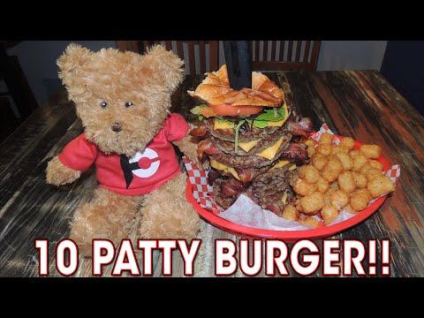 10 Patty Bacon Cheeseburger Challenge in Louisville!!