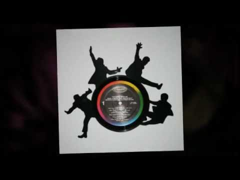 Poof! It's a Sillyette. Vinyl records transformed.