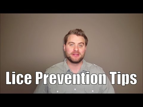 Lice Prevention Tips
