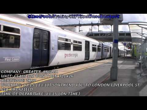 Season 8, Episode 81 - Trains at Southend Airport station