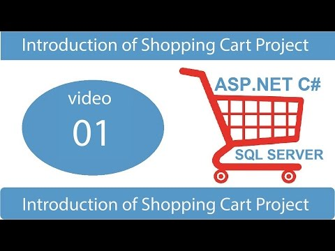 introduction of shopping cart project in asp.net