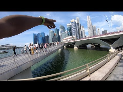 Exploring the country of Singapore!