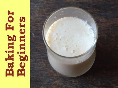 Milk, Buttermilk, Evaporated Milk & More! Basic Baking Ingredients
