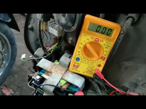 how to test a battery charger with a multimeter scooty scooter motorcycle