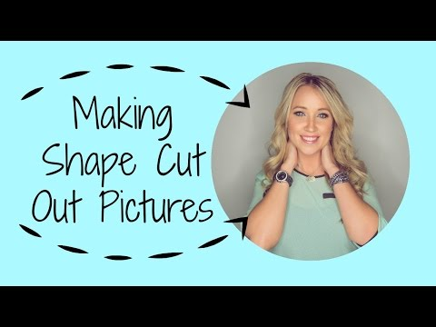 How to make shape cut out pictures with picmonkey circle part 2