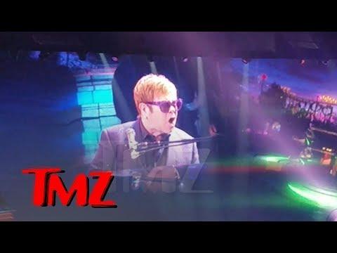 Elton John Loses It When Handsy Fans Get Onstage, Walks Off Vegas Concert   TMZ