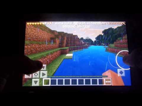 Minecraft on Samsung Galaxy Tab 4 7.0 (HD)(2015)