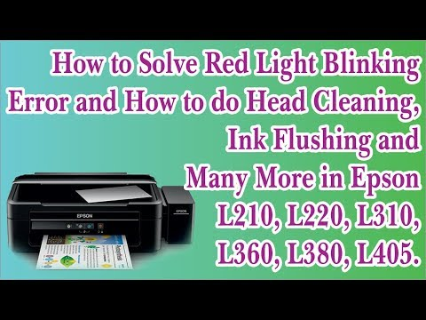 Epson inkjet Printers Maintenance Technique, Lining in Printing, How to Solve the Problem  in Hindi.