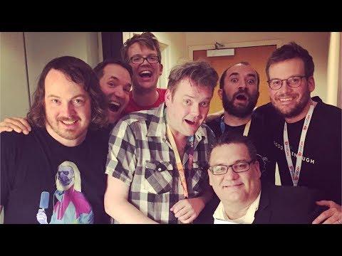 Beer & Board Games at VidCon 2017 with Hank Green & John Green!