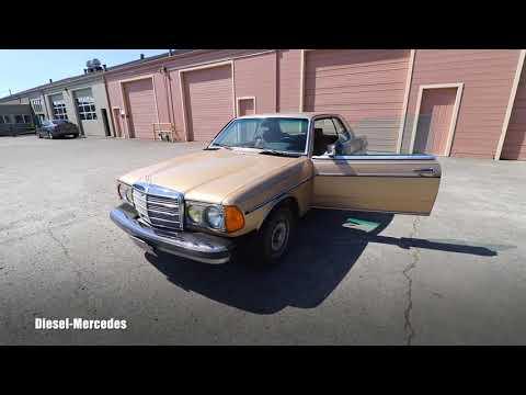 Diesel Mercedes Turbo Whistle Sound
