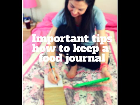 How to keep a food journal to heal your health and skin issues
