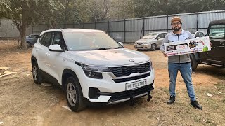 My Kia Seltos Getting Oem Type Android Stereo | 2020 Kia Seltos | Kia Seltos HTE | Musafir's Seltos