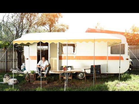 The Modern Day Man Living In A Caravan!
