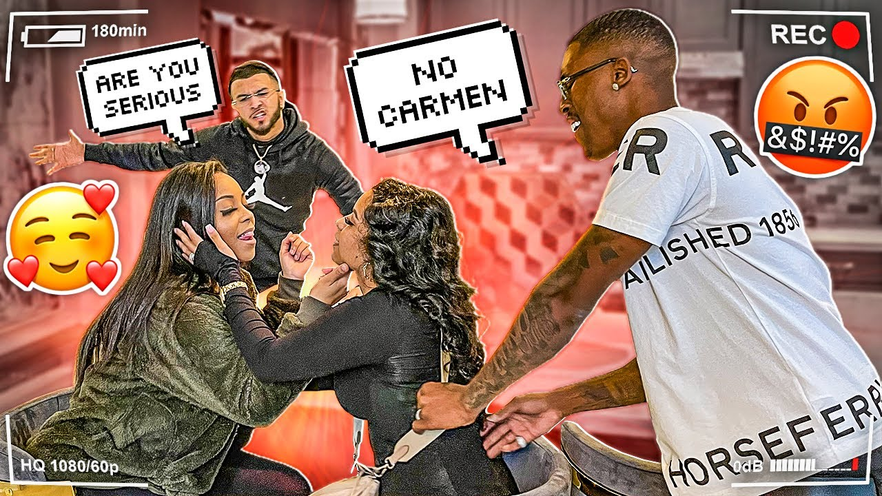 CARMEN DEFINITELY WANTS A GIRL NOW!! **UNEXPECTED**