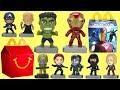 2019 Avengers Endgame McDonald's Happy Meal Toys Full Set of Movie Toys
