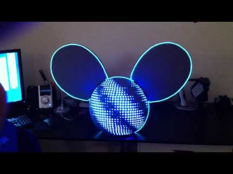Deadmau5 LED Head Replica