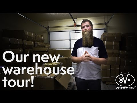 New Warehouse Tour - Ov Tribe Giveaway
