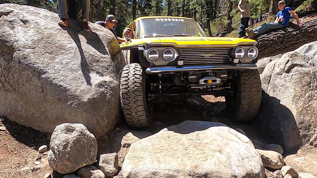 The Morrvair Takes On The Rubicon Trail
