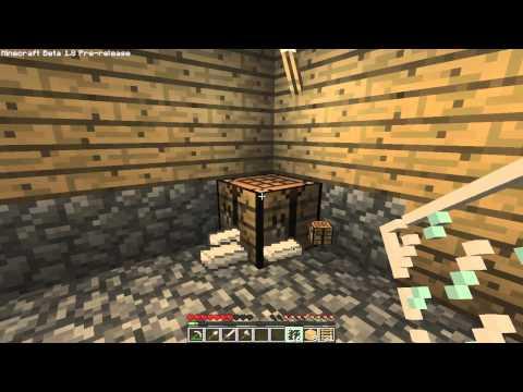 Minecraft 1.8 - How To Make A Glass Pane