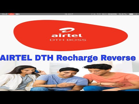 Airtel DTH wrong Recharge Reverse mBoss