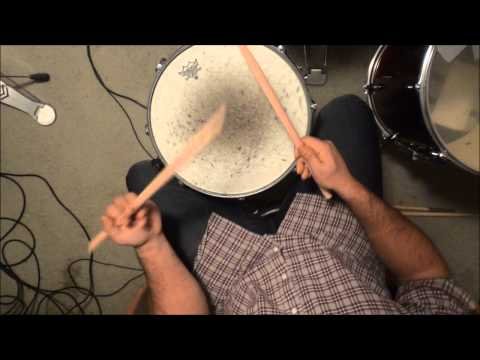 How To Hold Drum Sticks (Traditional Grip)