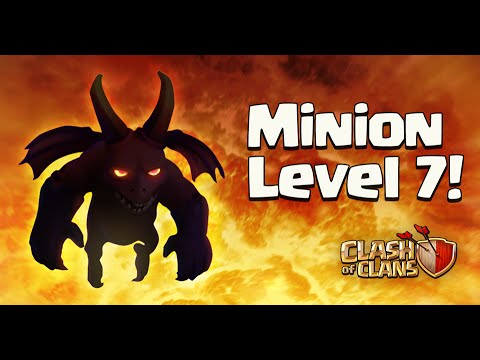 Clash of Clans - Level 7 Minions! (Town Hall 11 Update)