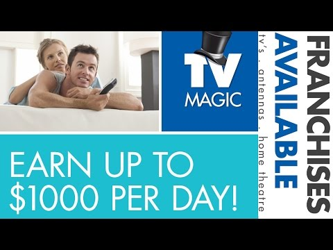 Become a TV Magic Franchisee!