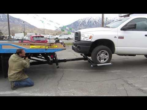 Rollback Tow Truck 2000 International 4700 21' Jerr-Dan Wrecker Wheel Lift LOW MILES! $27,800