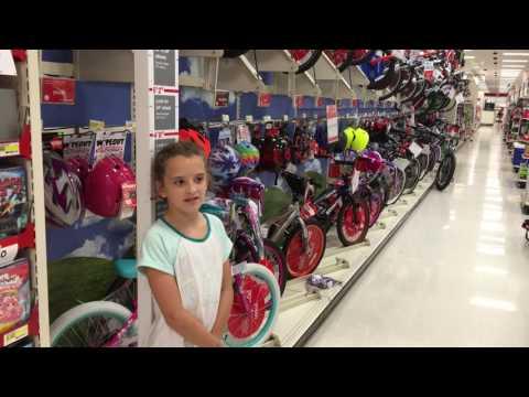 Buying a kid's bike