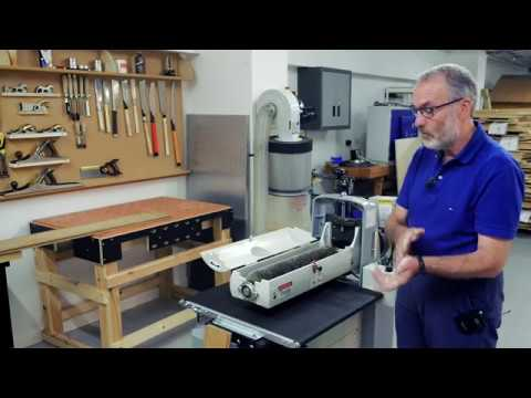 Axminster Trade Series ST-480 Drum and Brush Sander -  Product Overview and Demonstration