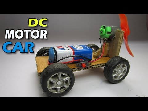 How To Make DC Motor Car At Home | Technical Ninja