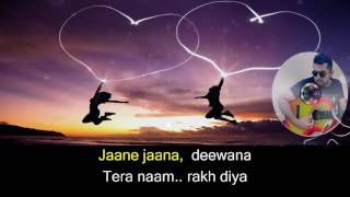 Aisi Deewangi Karaoke with lyrics