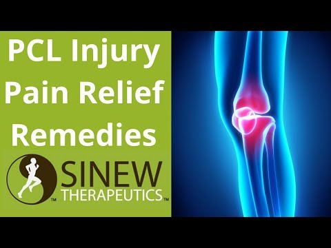 PCL Injury Pain Relief Remedies