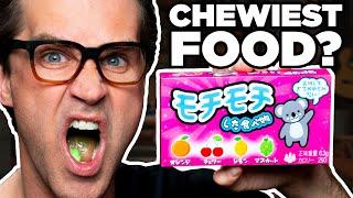 Chewiest Food In The World Taste Test