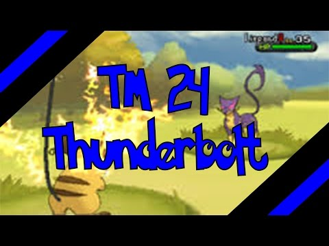 How To Get TM 24 - Thunderbolt In Omega Ruby and Alpha Sapphire (Oras)