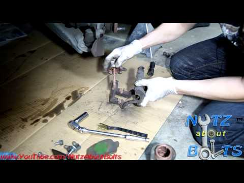 1998-2008 Toyota Corolla Front brakes remove and install