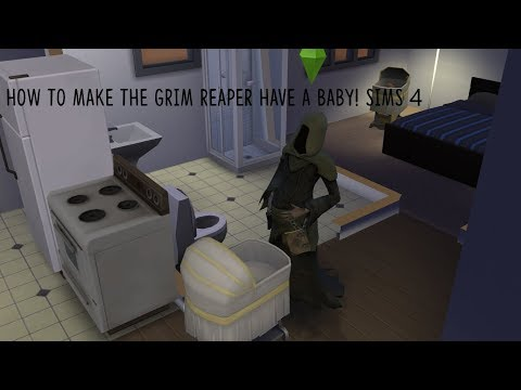 How to make the grim reaper pregnant!   Sims 4