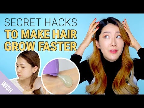 5 Tricks for Faster & Longer Hair Growth  | How To Make Hair Grow Overnight