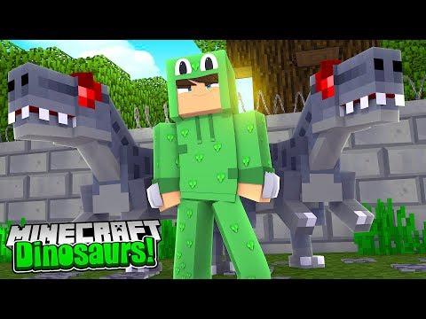 WE GET A NEW DANGEROUS DINOSAUR! - Minecraft Dinosaurs w/ Little Lizard