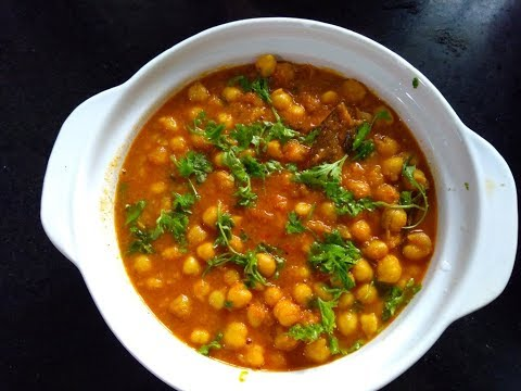 HOW TO MAKE EASY &TASTY VELLA KADALA CURRY/CHANA MASALA