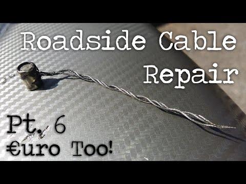€uroToo Pt 6. Roadside Clutch Cable Repair - Gear Gremlin Kit