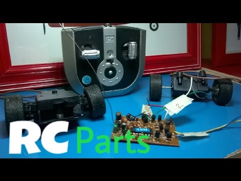 How/Where to get all the Parts you need to make RC Vehicles at Home Cheaply.