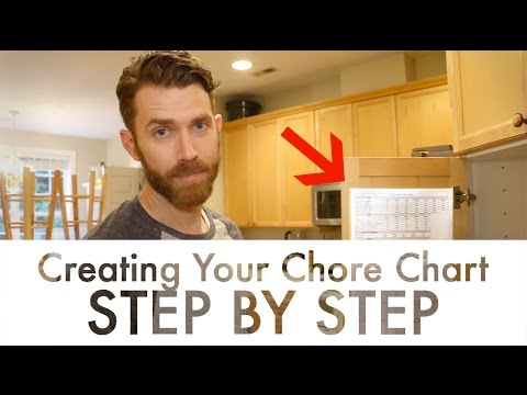 Creating Your Own Chore Chart - Step by Step
