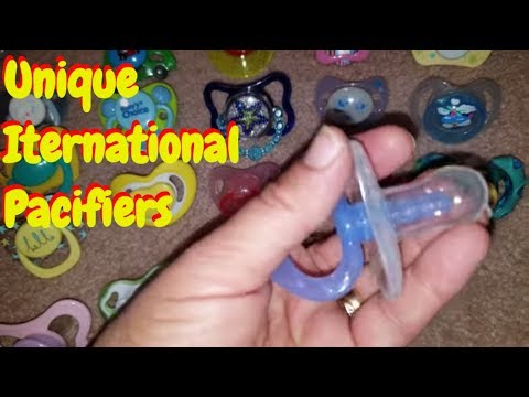 Worldwide Pacifiers from Other Countries Are Now *For Sale*