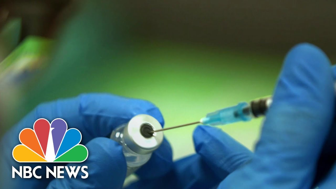 U.K. Issues Allergy Warning For Pfizer's Covid Vaccine | NBC Nightly News