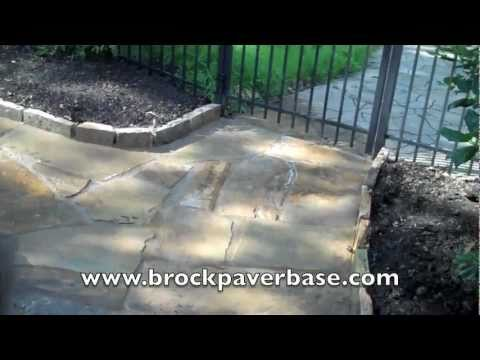 Brock Flagstone Installation