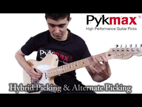13 techniques with the Pykmax High Performance Guitar Pick