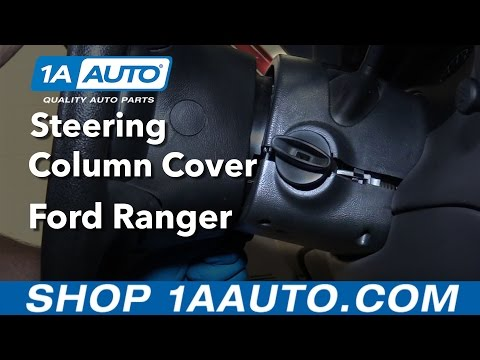 How to Replace Steering Column Cover 98-12 Ford Ranger