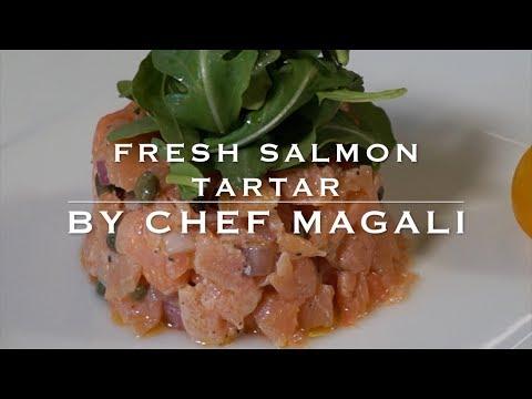 How to make Salmon Tartar