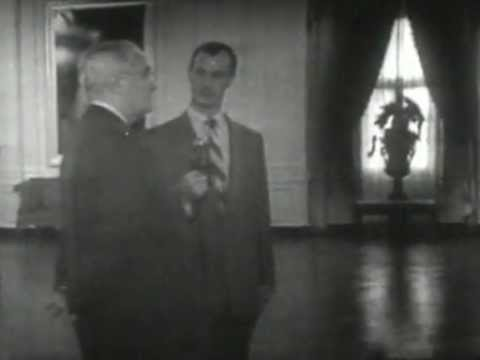 The first televised White House tour.